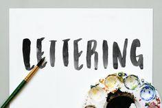 Lettering gradient, but not so drastically light