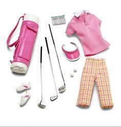 BARBIE LOOK ACCESSORY PAK PINK ON THE GREEN GOLF SET NEW IN PACKAGE  | eBay