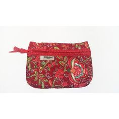 Quilted Pouch Colombe Red