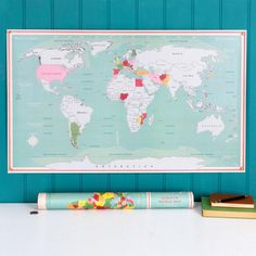 Scratch World Map – Wild Atlantic Living Friendship Signs, Shabby Chic Signs, Wine Signs, Vintage Metal Signs, Heaven Sent, Paper Dimensions, Decoration, Wall Art Decor, World Maps