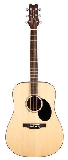 Jasmine by Takamine!The Jasmine JD-36 is a handsome dreadnought guitar with a full, robust sound and refined features. Great for any player seeking the bold sounds that the dreadnought body style off