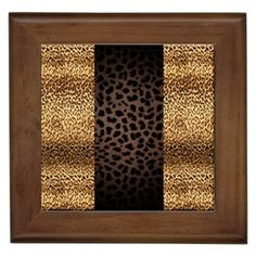 Leopard Wall Decor animal print bathroom collection | for the home | pinterest