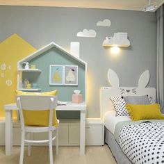 teen girl bedrooms small room - simple teen girl room ideas plus tips to produce a super warm teen girl bedrooms. Bedroom Decor Suggestion tip shared on 20190211 Baby Bedroom, Girls Bedroom, Bedroom Decor, Design Bedroom, Master Bedroom, Pool Bedroom, Bedroom Yellow, Yellow Nursery, Yellow Walls