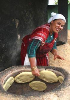 Traditional bread- Khobz Tabouna/ Hergla, Sousse