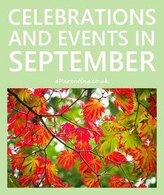 Celebrations Events & Special Days in September 2021 Days In September, September Events, September Themes, September Calendar, Celebration Day, Seasonal Celebration, Festival Celebration, Holiday Calendar, Event Calendar