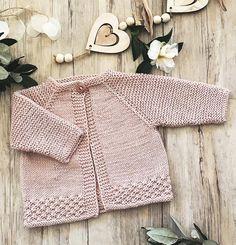 Maebry Top down cardigan – Knitting pattern by OGE Knitwear Designs – Knitting Baby İdeas.