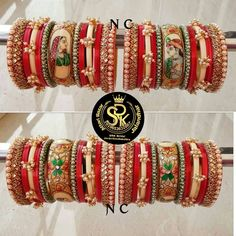 Ankle Jewelry, Jewlery, Thread Bangles Design, Bridal Chuda, Bridal Jewelry Vintage, Bridal Bangles, Bridal Blouse Designs, Indian Jewelry, Bridal Style