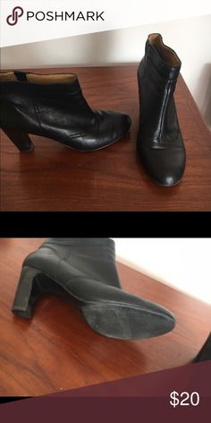Nine West ankle boots Great black ankle boots. Still have a lot of life left in them and super comfortable. Nine West Shoes Ankle Boots & Booties