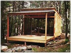 Small Cabin Plans And Building Kits: Tiny Home Designs That You Can Build  In The Backwoods Or In Your Backyard