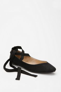 my mom got me my first pair of ribbon flats when i was 5. They were amazing and the perfect pale pink