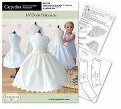 Pattern comes with all components in two popular 18 Dolls Sizes ~ for American Girl Dolls and ~ for the slim Carpatina Dolls This professionally American Girl Outfits, American Doll Clothes, American Dolls, Doll Dress Patterns, Doll Sewing Patterns, Clothing Patterns, Doll Patterns Free, Sewing Doll Clothes, Girl Doll Clothes