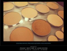 Colorscience pure mineral foundation is a product we just can't get enough of!!! It gives the appearance of perfection without the thick look of traditional pressed powder. A must-have for every woman...... Contact Phases Skin Care & Laser Center in Carmel, IN at 317.848.8101 or  online at www.phasesskincare.com