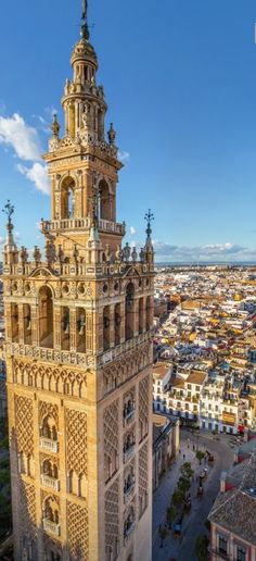 Islamic Architecture, Best Memories, Big Ben, Around The Worlds, Country, City, Building, Seville Spain, Places