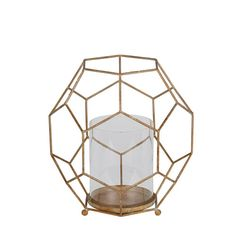 Gold Metal Candleholder Privilege Candleholders Candle Holders Home Decor
