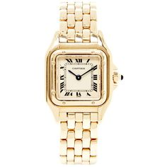 CMT Fine Watch and Jewelry Advisors Vintage Cartier 18K Yellow Gold... found on Polyvore