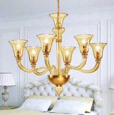 Candelabru 9352 6 becuri Fan Decoration, Candle Holders, Chandelier, Ceiling Lights, Candles, Lighting, Home Decor, Candelabra, Decoration Home