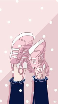 Ideas sneakers wallpaper just do it Wallpaper Pastel, Kawaii Wallpaper, Tumblr Wallpaper, Wallpaper Backgrounds, Iphone Wallpaper, Cover Wallpaper, Cute Girl Wallpaper, Trendy Wallpaper, Disney Wallpaper