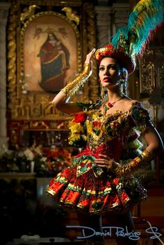 Olivia Pinheiro at Carnaval de Oruro (Bolivia)