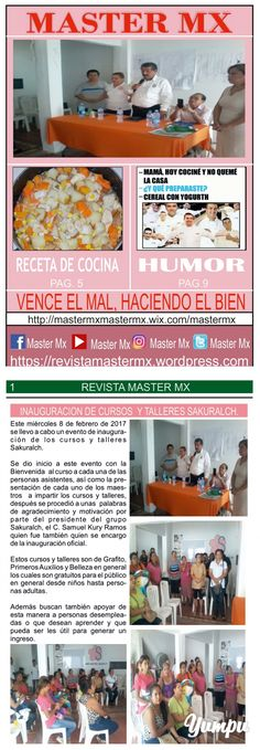 MASTER MX 69a EDICION - Magazine with 12 pages: REVISTA SEMANAL