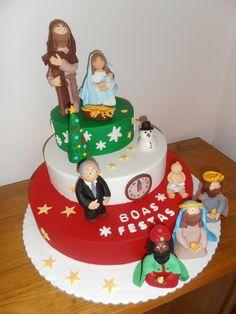 Christmas Contest Cake