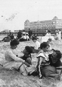 Love at the Seaside — Atlantic City, N.J. between 1875-1905.