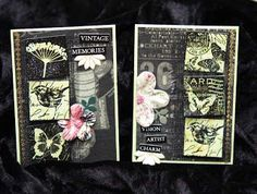 arty.paper: Garden Inchie Rubber Stamp set from Darkroom Door. Follow link to some lovely samples by the DT member at this blog.
