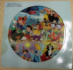 I had several Disney records as a child.  Each had the picture inside the LP.