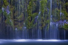 Mossbrae Falls,  Dunsmuir, California, USA