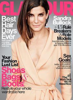 Sandra Bullock revista glamour - Buscar con Google