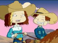 Phil And Lil Rugrats, Rugrats All Grown Up, Cartoon Fan, Cartoon Tv Shows, Cute Cartoon, Rugrats Funny, Trippy Pictures, Nickelodeon Girls, Little Cowgirl