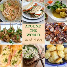 Kid friendly international food, Around the World in 18 Dishes | Babble