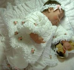 Gorgeous Baby Coat � Knits4Kids free crochet pattern.