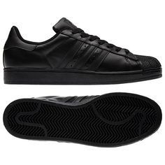 huge selection of 8b894 56615 adidas Superstar 2.0 Shoes - All Black Everything Adidas Originals  Leggings, Leather Sneakers, Shoes
