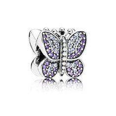 PANDORA   Funkelnder Schmetterling Charm
