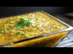 Roasted Tomatillo Salsa Verde Recipe