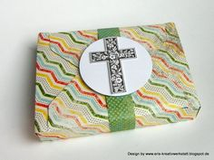 #Kartenspiel-#Verpackung mit dem Envelope Punch Board (#EPB) + #Anleitung auf meinem #Blog:  http://eris-kreativwerkstatt.blogspot.de/2015/04/kartenspiel-verpackung-mit-dem-envelope.html  #stampinup #envelopepunchboard #kommunion #teamstampingart
