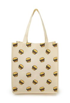 10 Bags You Can Plop On The Subway Floor -- Guilt-Free - Sometimes, we really just don't give a shit. Forever 21, Cheap Bags, Shopper Tote, Guilt Free, Unique Outfits, Hamburger, Vans, Reusable Tote Bags, Totes