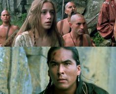 Alice & Uncas - the Last of the Mohicans - their story is my fave thing about this movie!