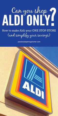 Could you shop Aldi only? I shop Aldi occasionally for produce, milk, spices and eggs, but just recently realized what a large variety they have! Aldi Grocery Store, Aldi Shopping, Shopping Hacks, Money Tips, Money Saving Tips, Cash Money, Aldi Meal Plan, Meal Prep, Frugal Living Tips
