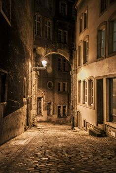 Luxembourg City at Night, just love the colours imagine this with some beautiful vibrant colours in the windows