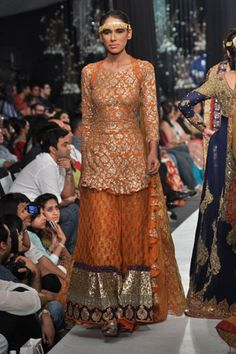 HSY (Hassan Sheheryar Yasin) Bridal Collection at Pakistan Bridal Couture Week, 2013