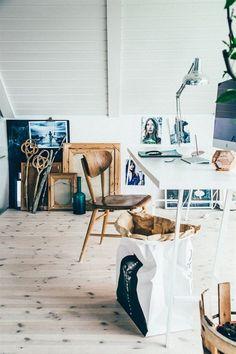 Suède / Maison d'une blogueuse à vendre ... /