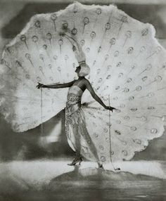 Dolores, Ziegfeld Follies Midnight Frolic, 1920 - This costume is still very much intact