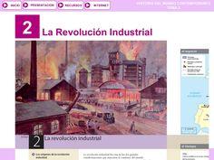 Tema 2: La Revolución Industrial by José Antonio Arjona Muñoz via slideshare