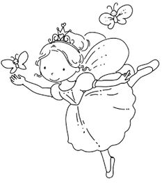Fairy Coloring Pages - Best Gift Ideas Blog