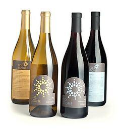 YaM Brand's identity/packaging for Sol Stone Wine celebrates the hardiness of the rocky soil vineyard Wine Design, Label Design, Package Design, Logo Design, Bottle Packaging, Packaging Ideas, Communication Design, Brand Identity, Wine Rack