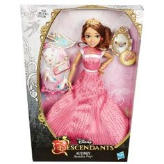 "Disney Descendants Coronation Audrey Auradon Prep Doll - Hasbro - Toys ""R"" Us Descendants Audrey Doll, Disney Channel Descendants, Disney Dolls, Barbie Dolls, Doll Toys, Barbie Clothes, Barbie Birthday, 8th Birthday, Adventures By Disney"