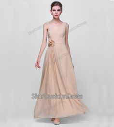 Hey, I found this really awesome Etsy listing at https://www.etsy.com/listing/214771310/bridesmaid-dress-champagne-one-shoulder