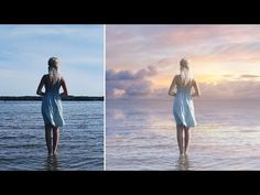How to Change Boring Photo into Awesome in Photoshop - Add Sky Easily & Quickly - YouTube
