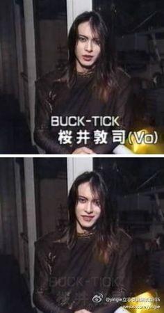美女あっちゃん!!! 櫻井敦司BUCK-TICK